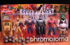 Extraños superheroes